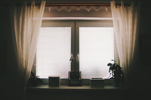 lukket gardiner